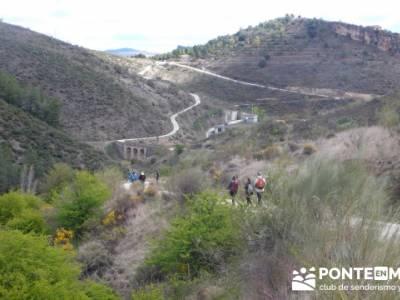 Senda Genaro - GR300 - Embalse de El Atazar - Patones de Abajo _ El Atazar; senderismo collserola